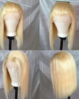 Brazilian Lace Front Blonde Bob Wig.