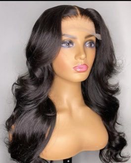 BRAZILIAN BODY WAVE 3-WAY PARTING LACE WIG